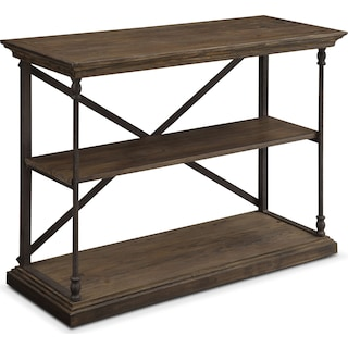 Bedford Short Bookcase - Pine
