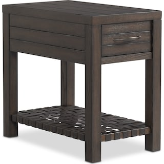 Brewer Chairside Table - Oak
