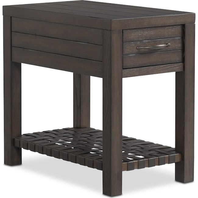 Accent and Occasional Furniture - Brewer Chairside Table - Oak