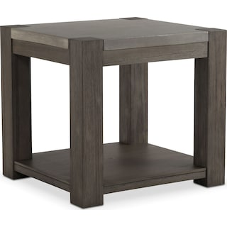 Kellen End Table - Gray
