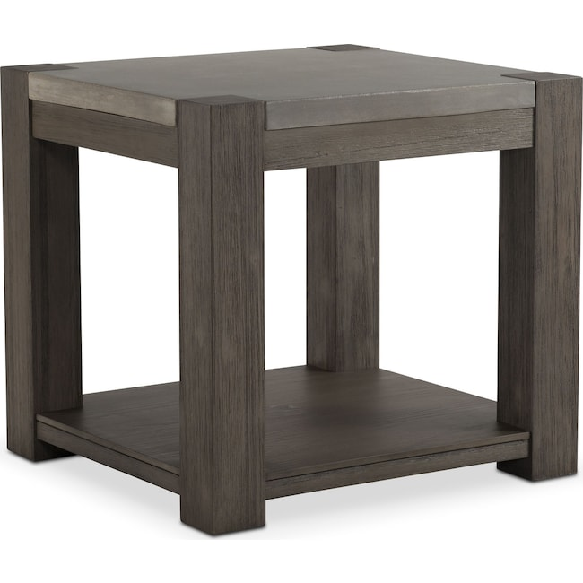 Accent and Occasional Furniture - Kellen End Table - Gray