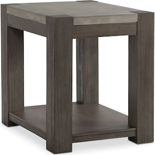 Kellen Chairside Table - Gray