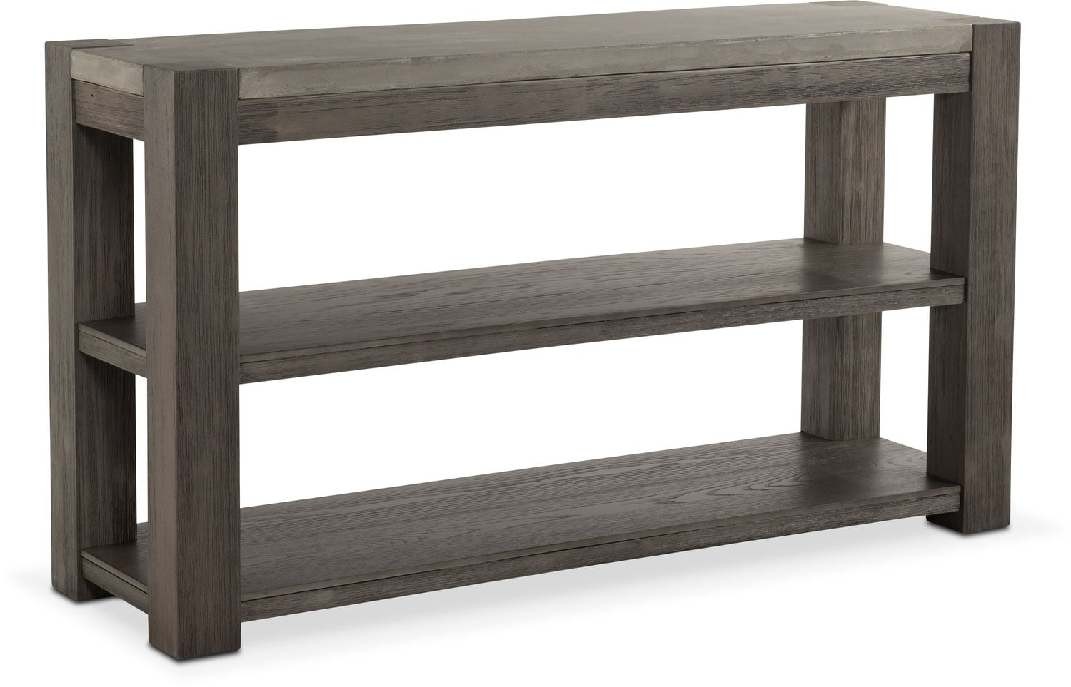 Accent and Occasional Furniture - Kellen Sofa Table - Gray