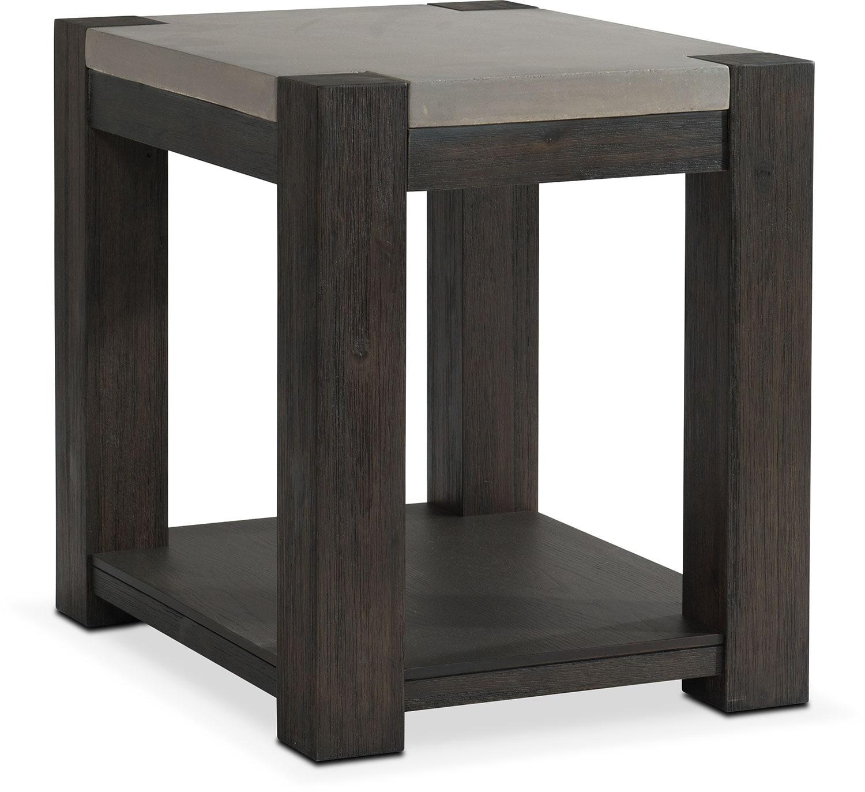 Kellen Chairside Table - Umber