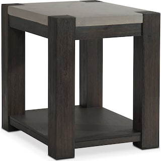 Kellen Chairside Table - Umber