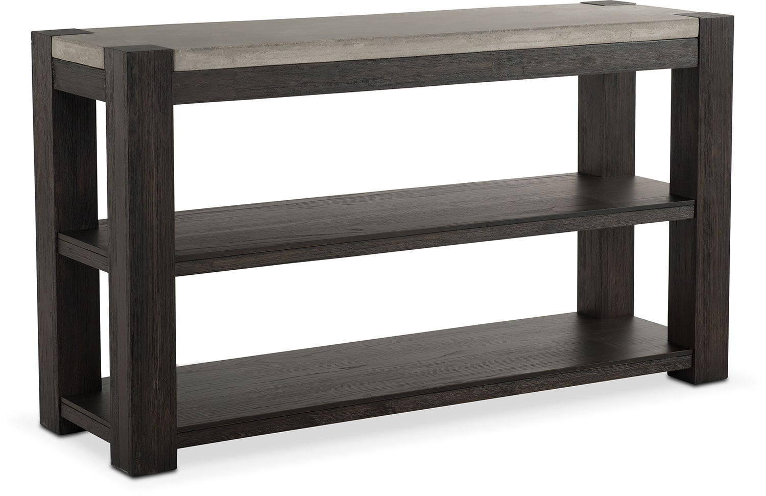 Kellen Sofa Table - Umber