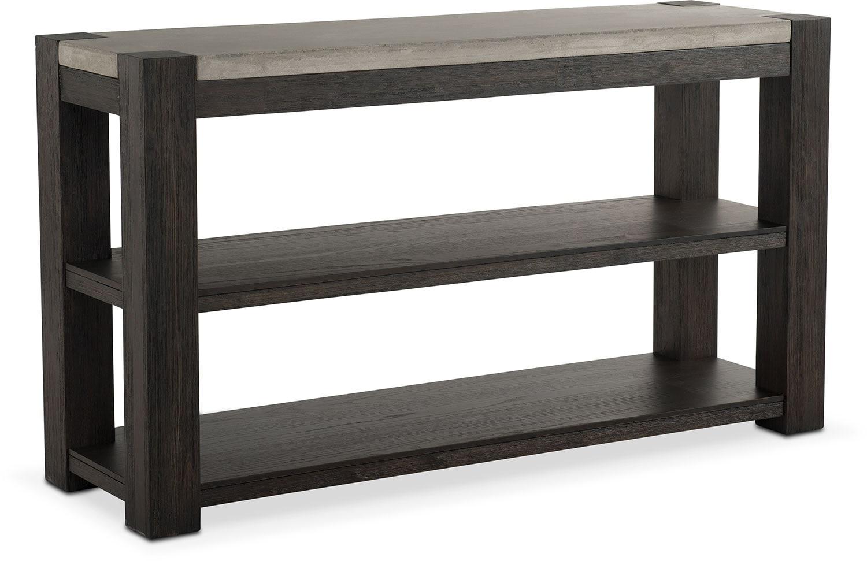 Beau Kellen Sofa Table   Umber
