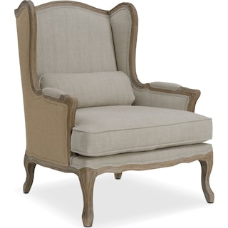 Maria Accent Chair - Ivory