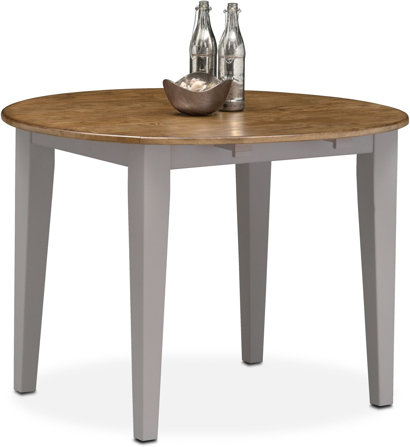 Dining Room Furniture   Nantucket Drop Leaf Table   Oak And Gray