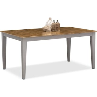 Nantucket Dining Table -  Oak and Gray