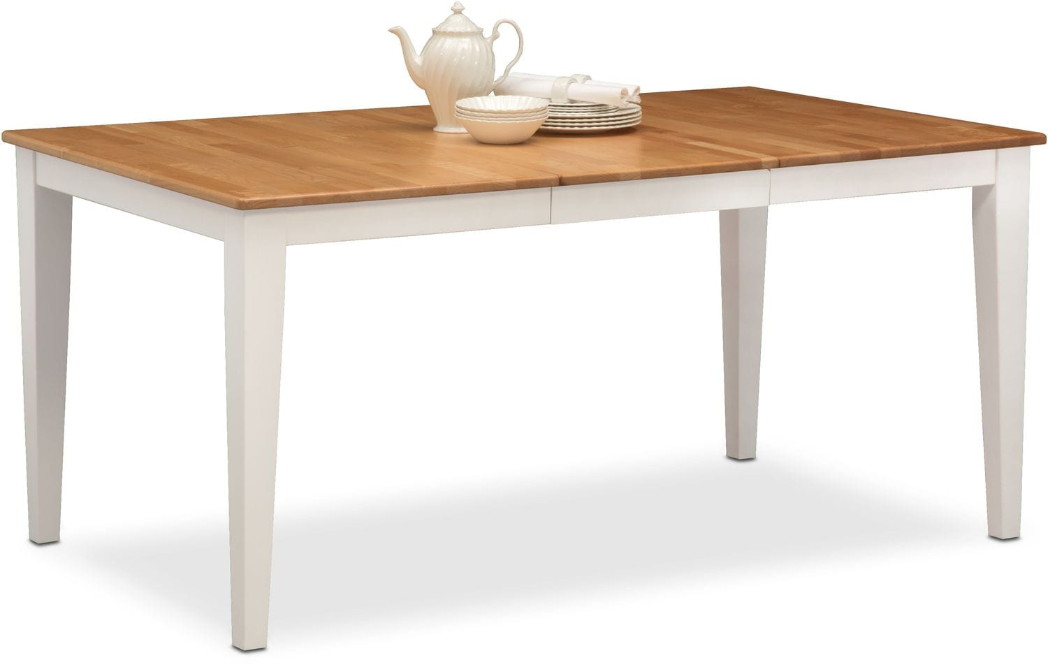 Genial Dining Room Furniture   Nantucket Table   Maple And White