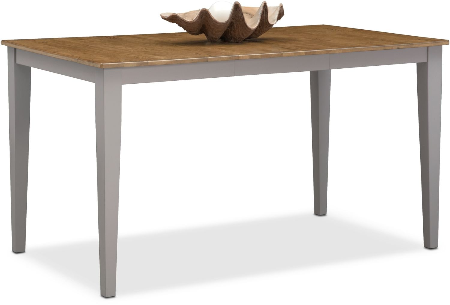 Nantucket Counter-Height Table - Oak and Gray