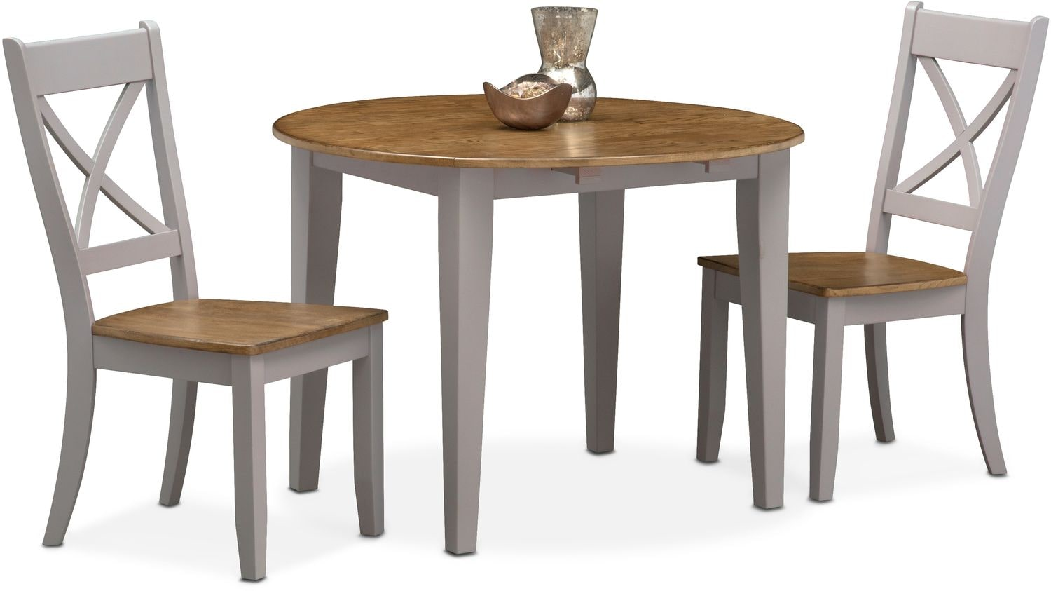 Dining Room Furniture   Nantucket Drop Leaf Table And 2 X Back Chairs