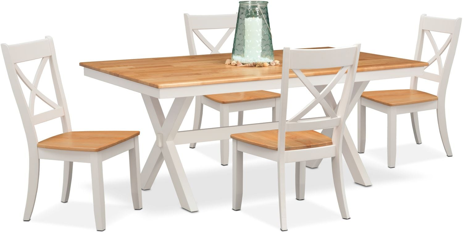 American Signature Dining Room Trestle Table