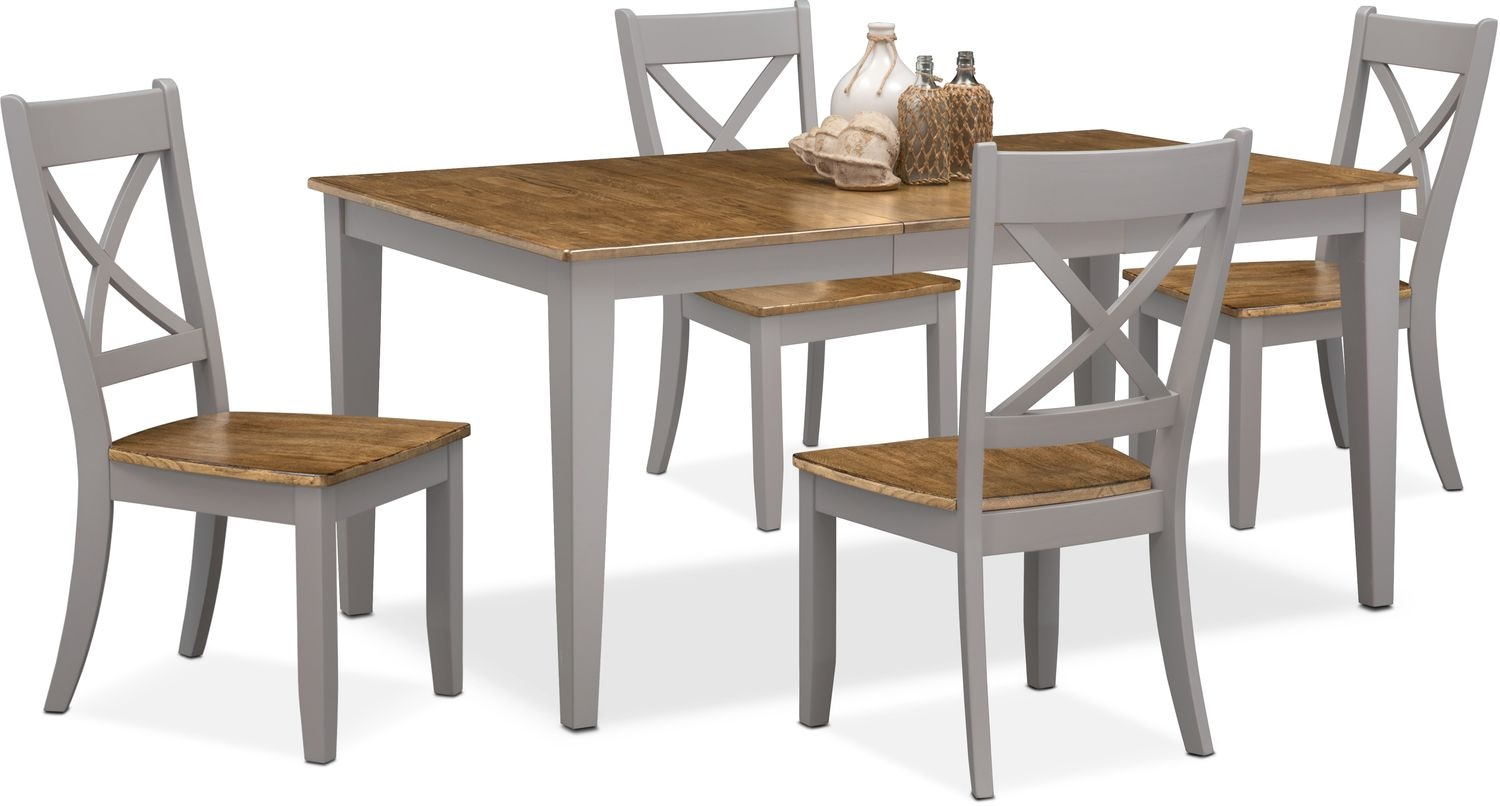 Dining Room Furniture - Nantucket Table and 4 Side Chairs