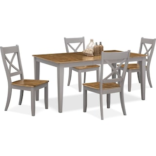 Nantucket Table and 4 Side Chairs