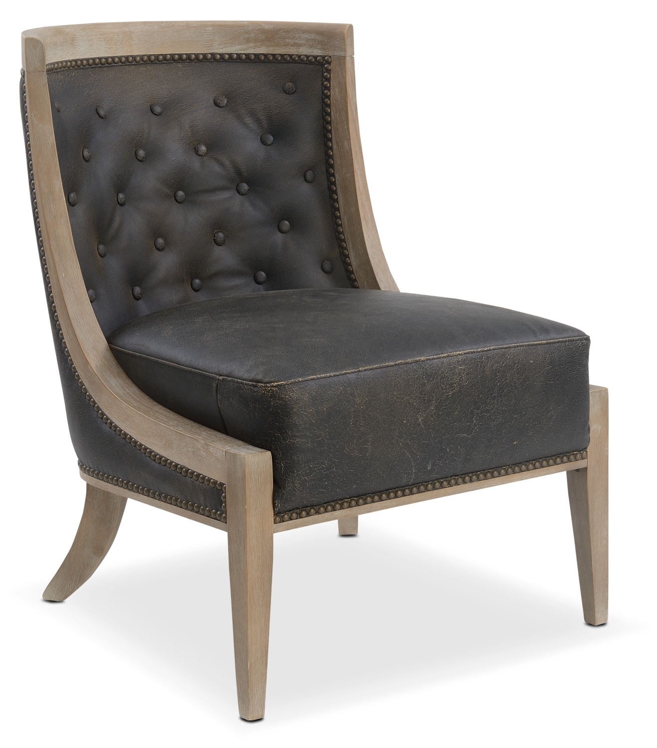 Pablo Accent Chair   Brown