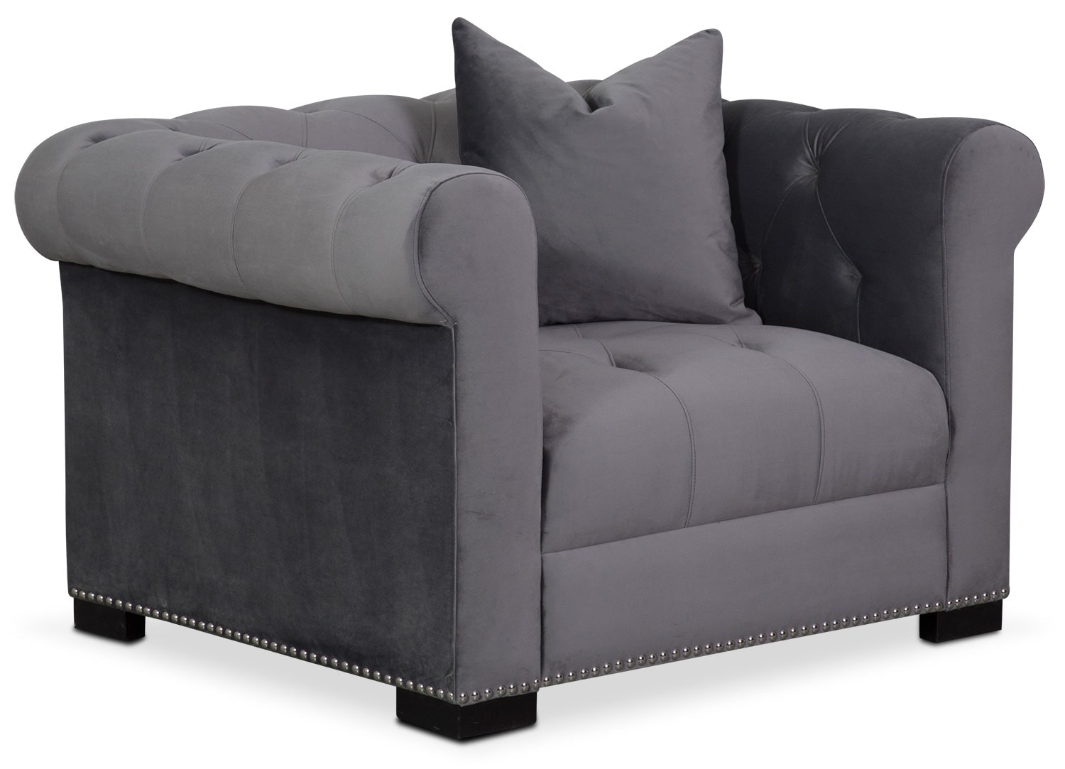 Couture Chair - Gray