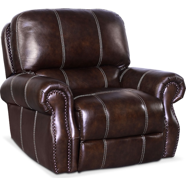 Living Room Furniture - Dartmouth Dual-Power Recliner