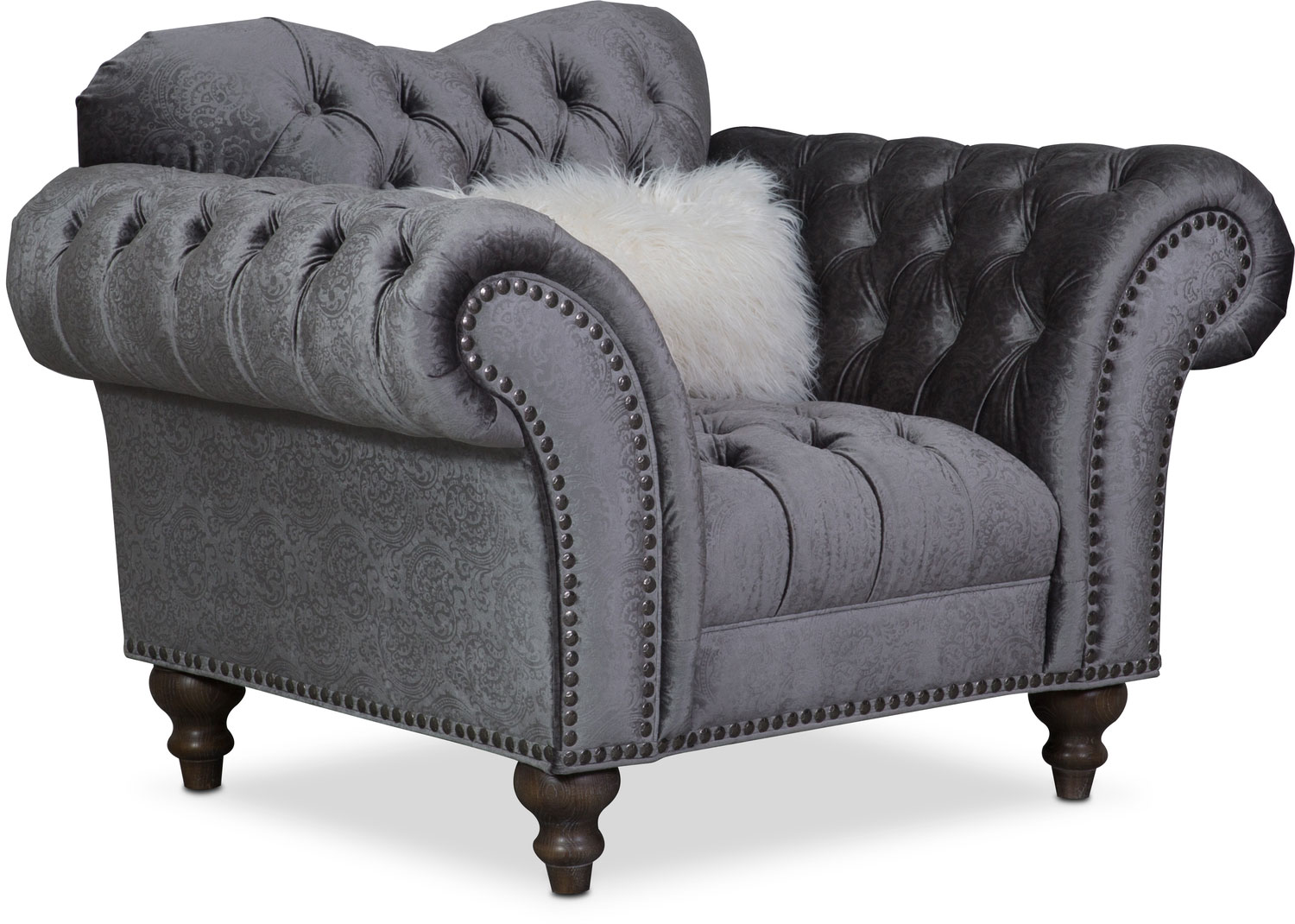 Brittney Chair - Charcoal