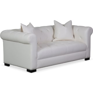 Couture Apartment Sofa - White