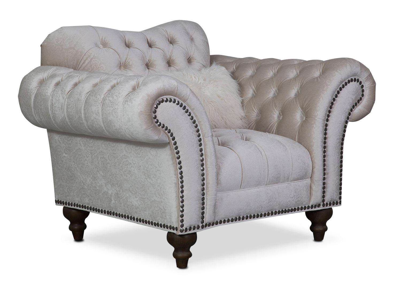 Brittney Chair - Ivory