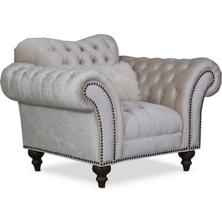 Brittney Chair - Ivory