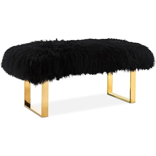 Luna Bench - Black