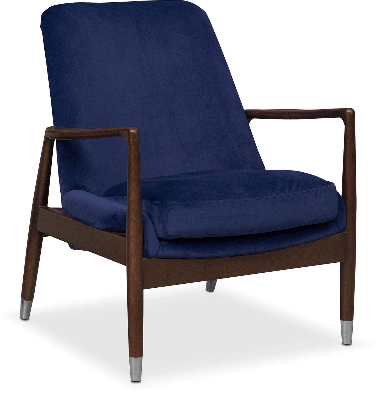 Mastro Accent Chair - Blue