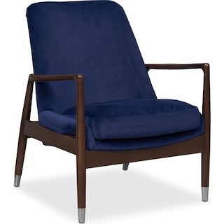 Mastro Accent Chair - Blue
