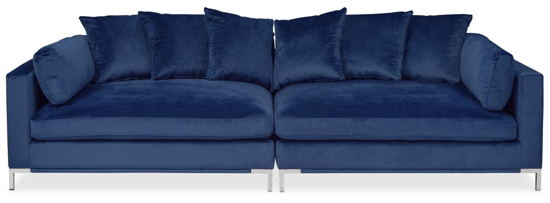 Moda 2 Piece Sofa   Blue Part 65