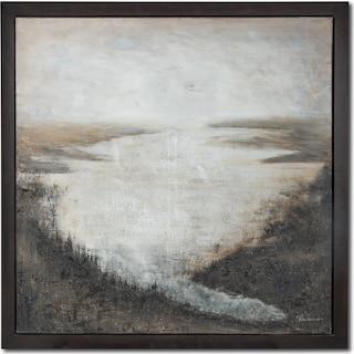 River Bend Framed Print