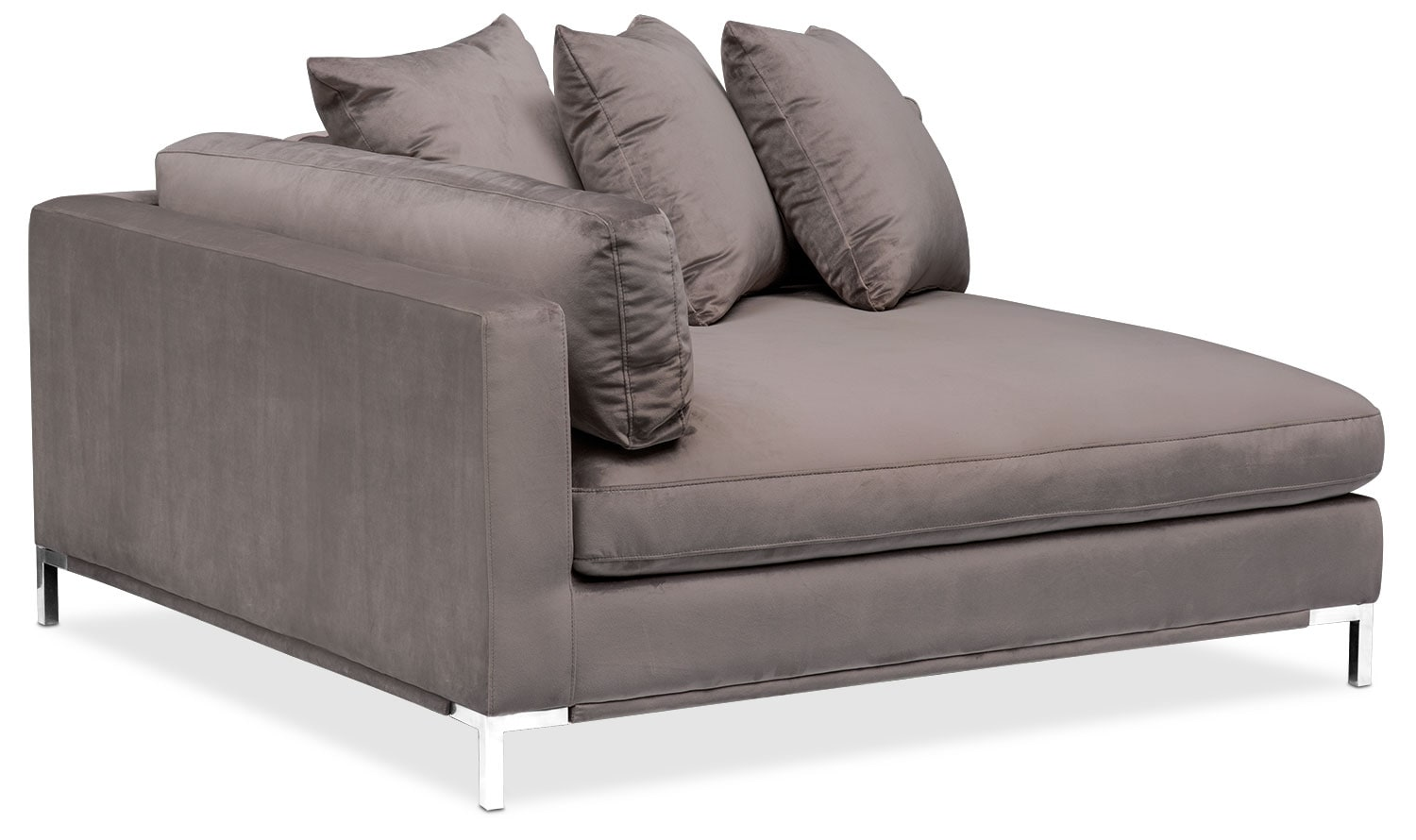 Moda 3 piece sectional with left facing chaise oyster for 3 piece sectional sofa with chaise