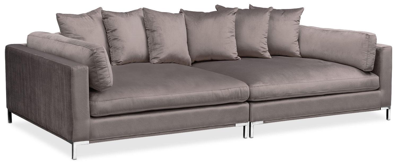 Moda 2 Piece Sofa Oyster American Signature Furniture