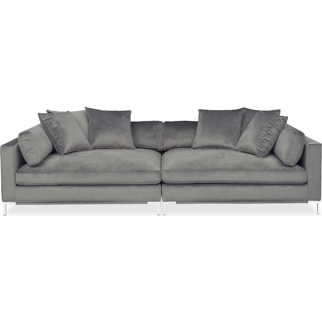 Living Room Furniture Moda 2 Piece Sofa