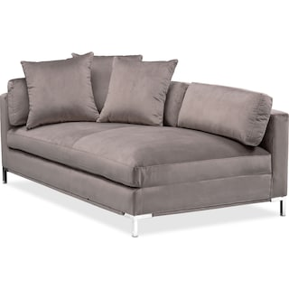 Moda Left-Facing Chaise - Oyster