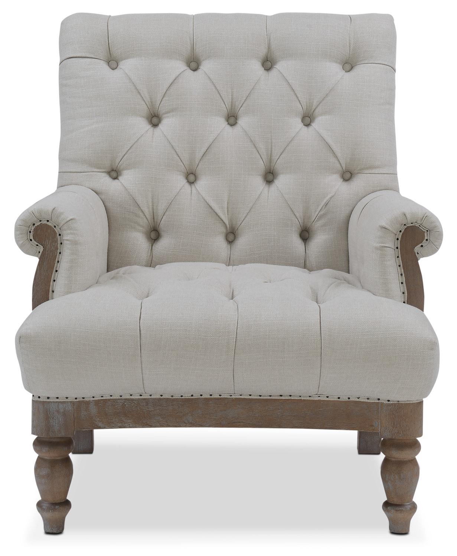Cream Accent Chair: American Signature Furniture