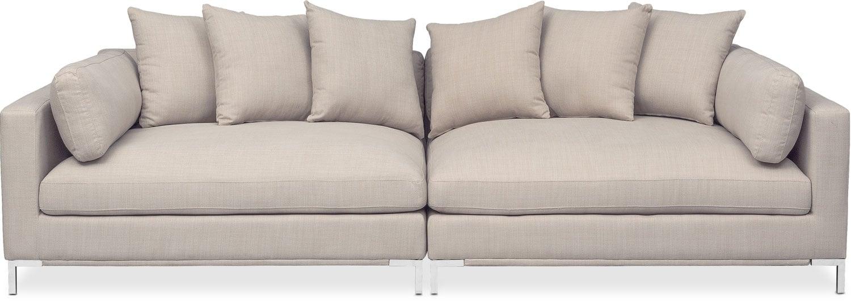 Moda 2-Piece Sofa - Ivory