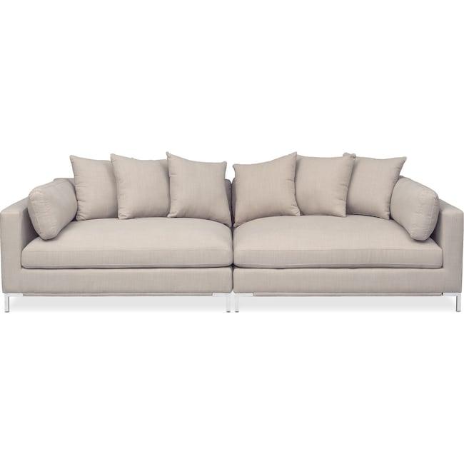 Moda Piece Sofa Ivory American Signature Furniture - American signature sofas
