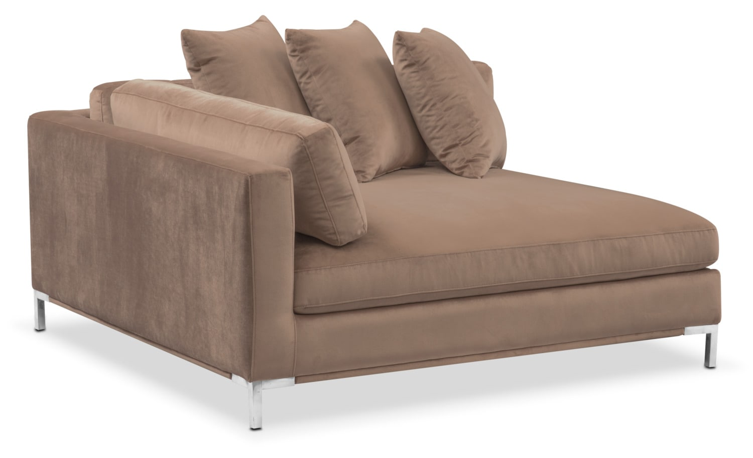 Moda Corner Sofa - Mushroom  sc 1 st  American Signature Furniture : american signature furniture sectionals - Sectionals, Sofas & Couches