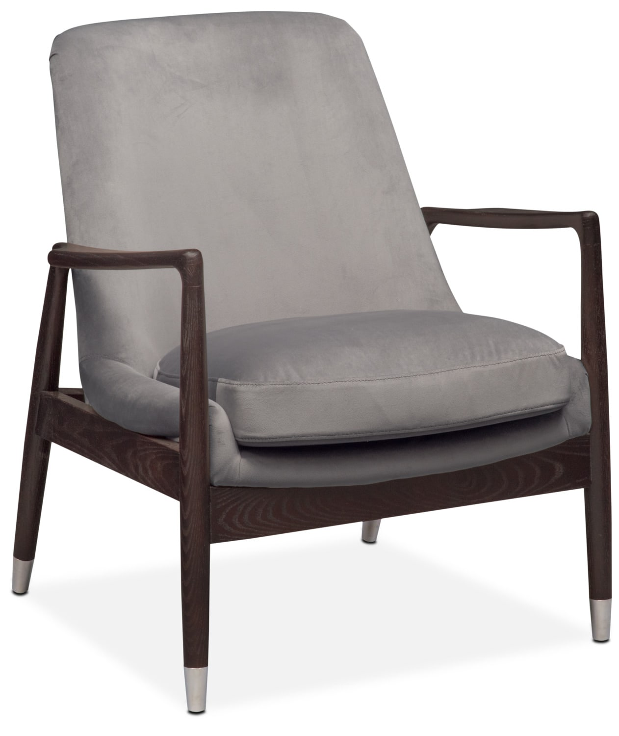 Accent and Occasional Furniture - Mastro Accent Chair - Gray