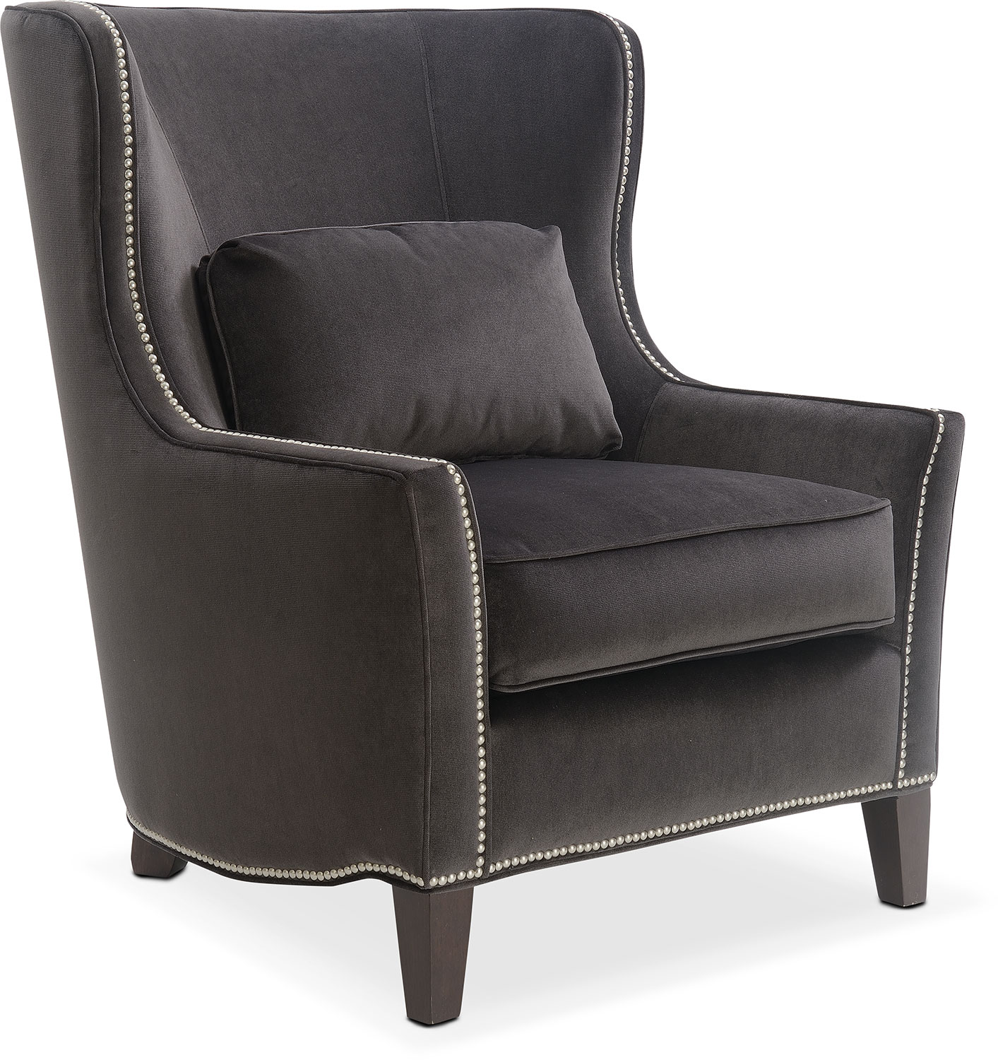 Living Room Furniture - Fenwick Accent Chair - Sterling
