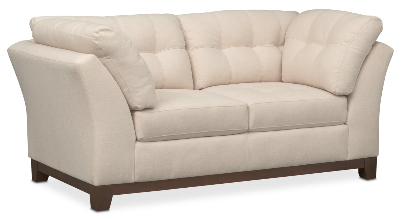 Living Room Furniture - Sebring Loveseat - Oyster