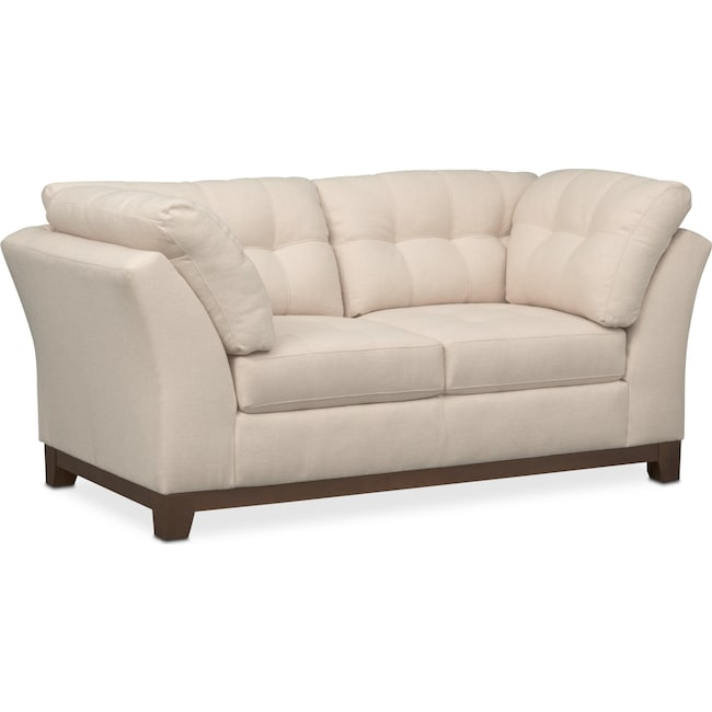 Living Room Furniture - Sebring Loveseat - Oyster