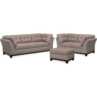 The Sebring Living Room Collection - Smoke