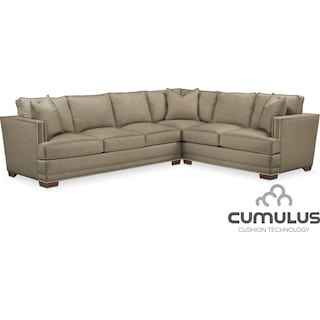 Arden Cumulus 2-Piece Sectional with Left-Facing Sofa - Mondo