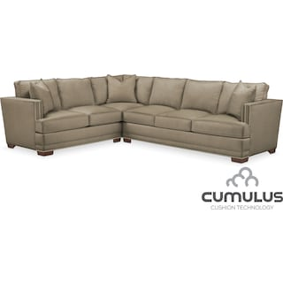 Arden Cumulus 2-Piece Sectional with Right-Facing Sofa - Mondo