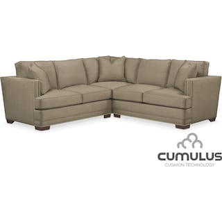 Arden Cumulus 2-Piece Sectional with Left-Facing Loveseat - Mondo