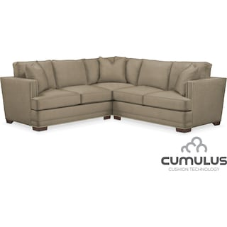 Arden Cumulus 2-Piece Sectional with Right-Facing Loveseat - Stately L Mondo