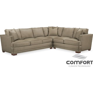 Arden Comfort 2-Piece Sectional with Left-Facing Sofa - Mondo